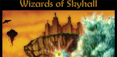 Look for Wizards of Skyhall - coming to a bookstore near you soon.